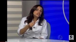 Viviane Marques em entrevista