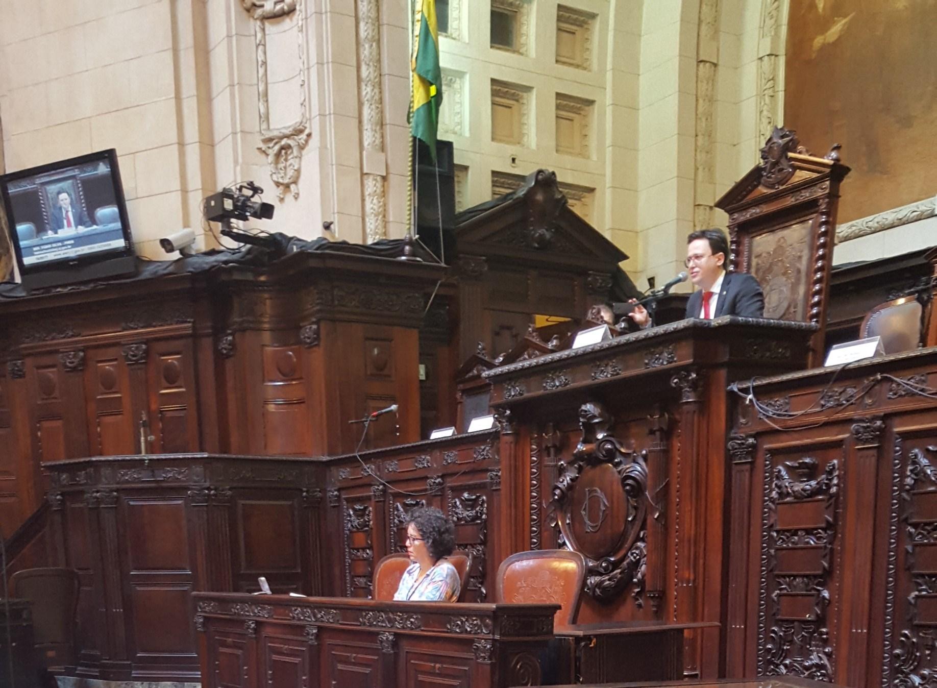 Presidente da Comissão de Saúde da Alerj, deputado Fábio Silva